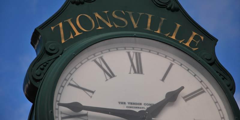 Zionsville Indiana Street