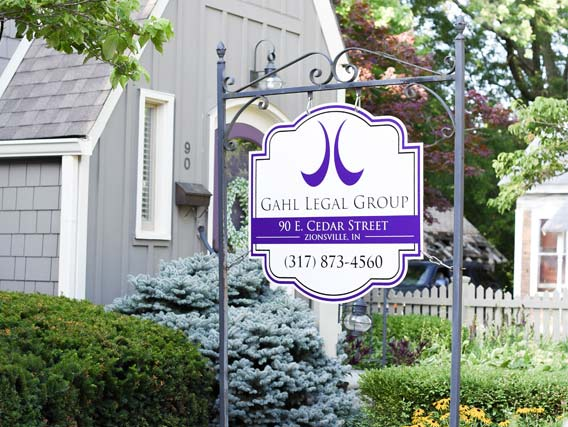 Zionsville Indiana Gahl Legal Office